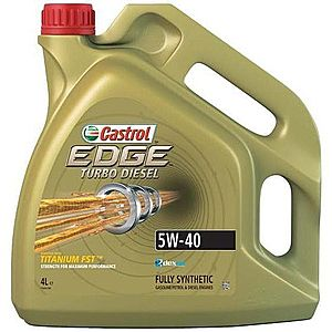 Ulei motor CASTROL EDGE TURBO DIESEL 5W-40 4L imagine