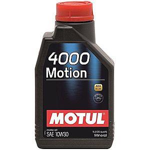 Ulei motor MOTUL 4000 MOTION 10W-30 1L imagine