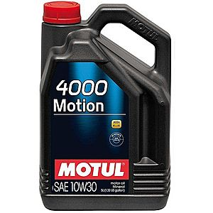 Ulei motor MOTUL 4000 MOTION 10W-30 5L imagine