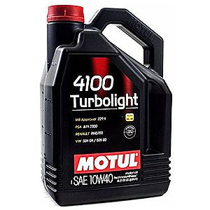 Ulei motor MOTUL 4100 TURBOLIGHT 10W-40 4L imagine