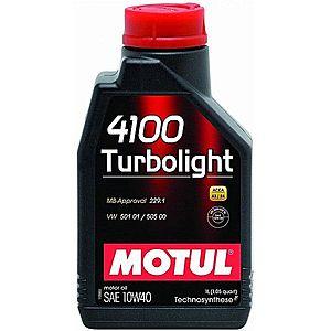 Ulei motor MOTUL 4100 TURBOLIGHT 10W-40 1L imagine