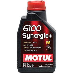 Ulei motor MOTUL 6100 SYN.+ 10W-40 1L imagine