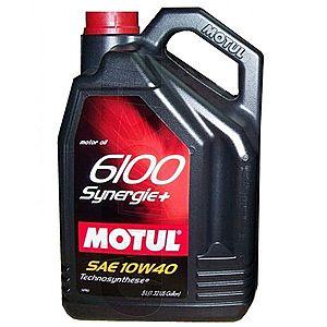 Ulei motor MOTUL 6100 SYNERGIE+, 10W-40 5L imagine