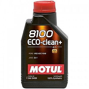 Ulei motor MOTUL 8100 ECO-CLEAN+, 5W-30 1L imagine