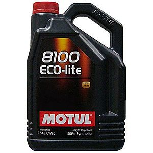 Ulei motor MOTUL 8100 ECO-LITE 0W-20 5L imagine
