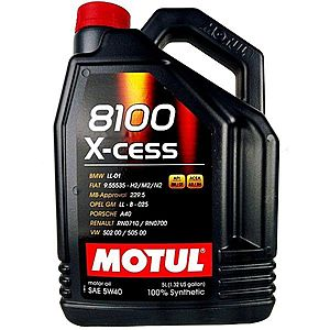 Ulei motor MOTUL 8100 X-CESS 5W-40 5L imagine