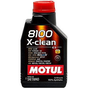 Ulei motor MOTUL 8100 X-CLEAN 5W-40 1L imagine