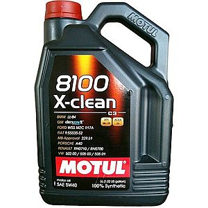 Ulei motor MOTUL 8100 X-CLEAN 5W-40 5L imagine
