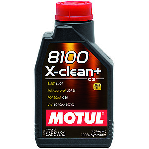 Ulei motor MOTUL 8100 X-CLEAN+, 5W30 1L imagine