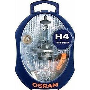 Bec auto OSRAM Cutie becuri H4 imagine