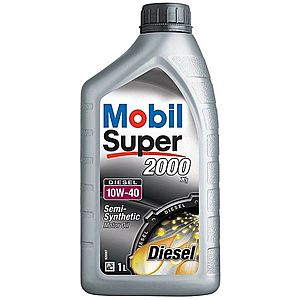 Ulei motor MOBIL SUPER 2000 X1 DIESEL 10W-40 1L imagine